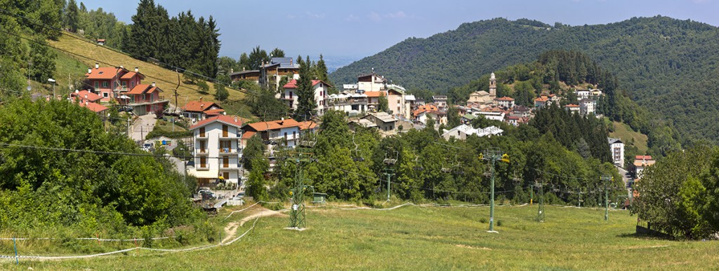Frabosa Soprana - Hier fanden die Downhillrennen statt